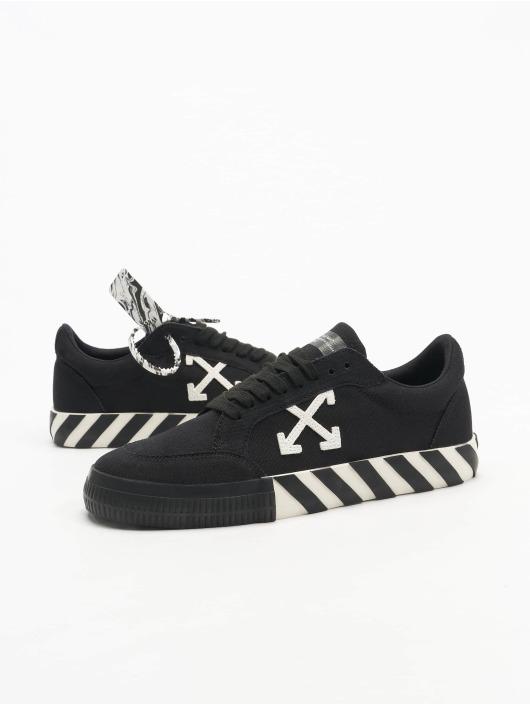 Off-White Sneaker Low Vulcanized Canvas schwarz