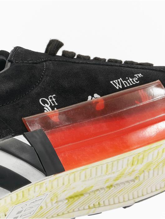 Off-White Sneaker Low Vulcanized Cow Suede schwarz