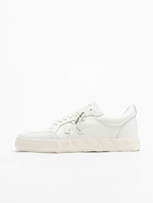 Off-White Sneaker Low Vulcanized Calf Leather weiß
