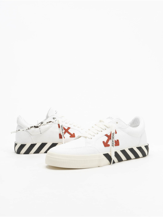 Off-White sneaker Low Vulcanized wit
