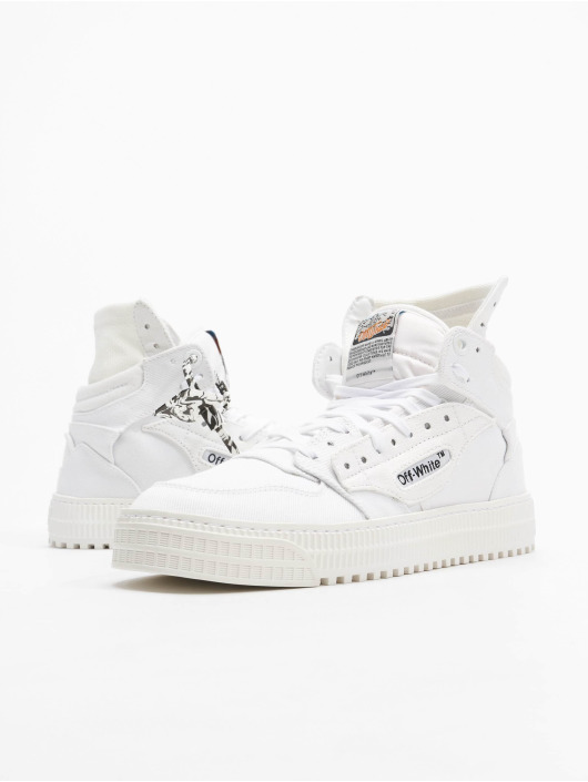 Off-White Sneakers Court Canvas bialy