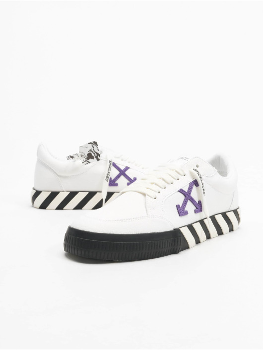 Off-White Sneakers Low Vulcanized Canvas biela