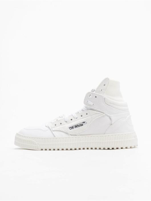 Off-White Sneakers Court Canvas biela