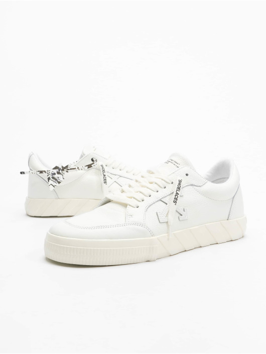 Off-White Sneakers Low Vulcanized Calf Leather biela