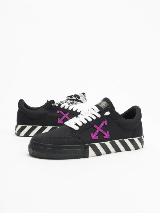 Off-White Sneakers Low Vulcanized svart