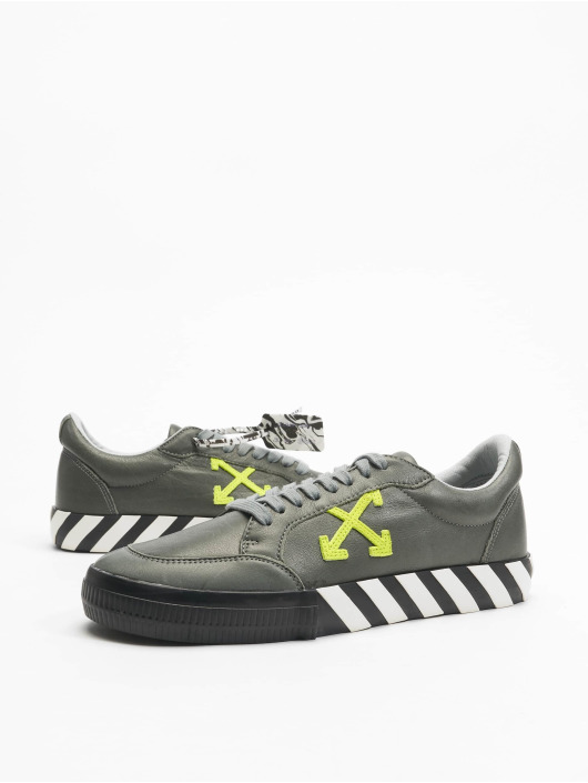 Off-White Sneakers Low Vulc Substainable Leather szary