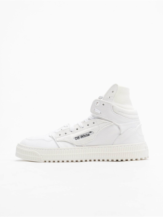 Off-White Sneakers Court Canvas vit