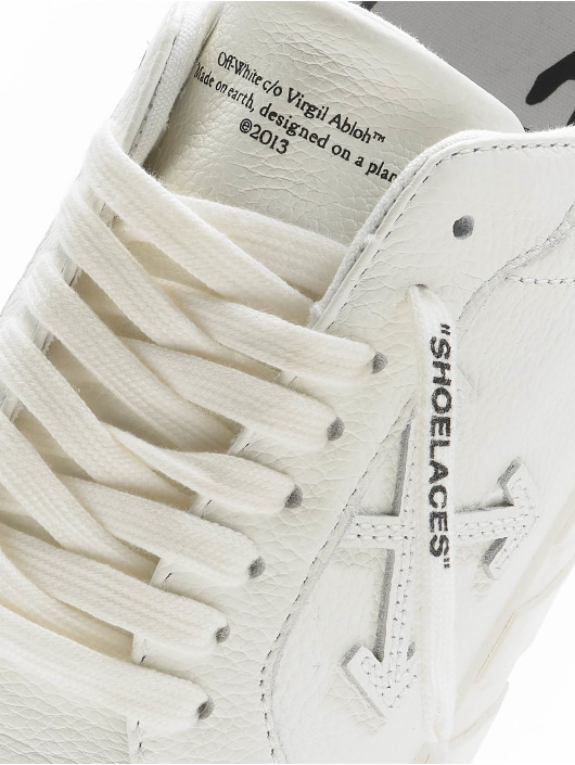 Off-White Snejkry Low Vulcanized Calf Leather bílý