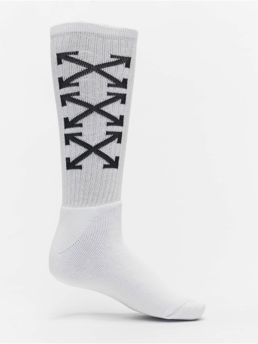 Off-White Socken Arrows Mid weiß