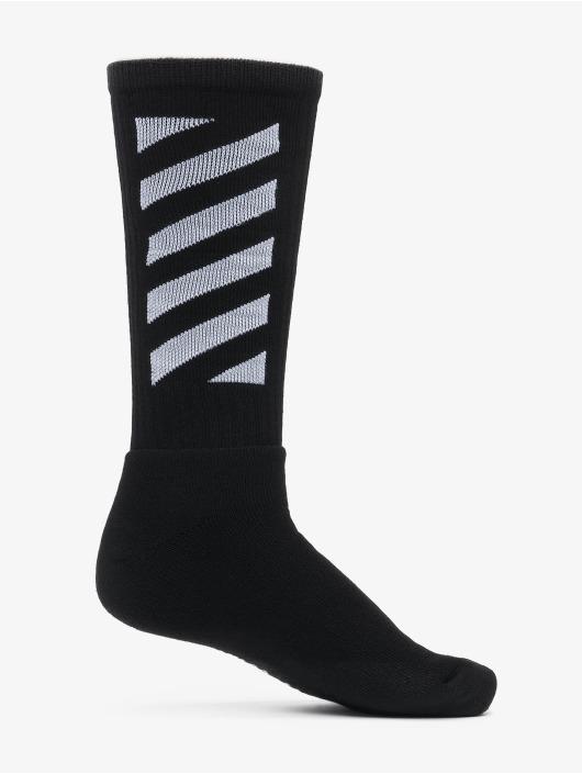Off-White Socks Diag black