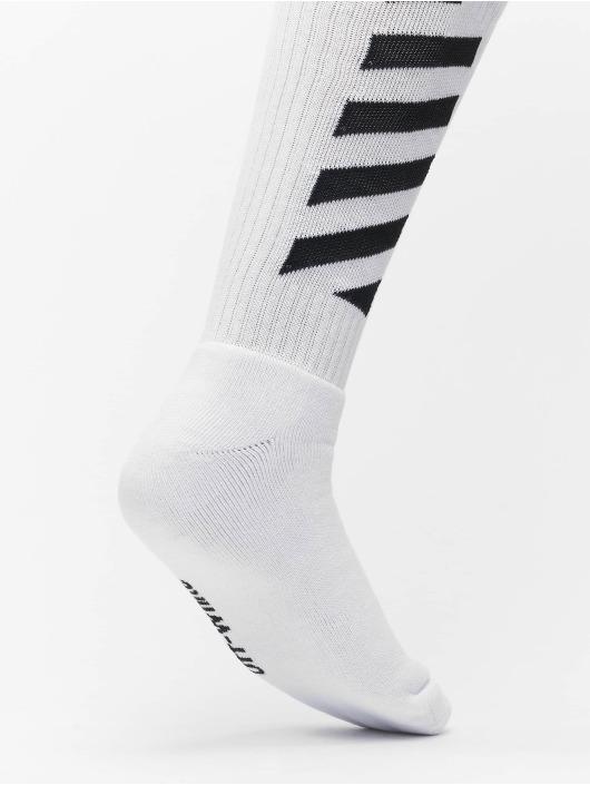 Off-White Socks Diag Mid white