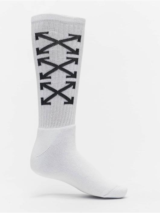 Off-White Sokken Arrows Mid wit