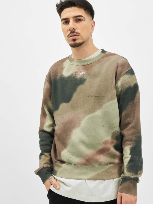 Off-White Sweat & Pull Camo Stencil blanc