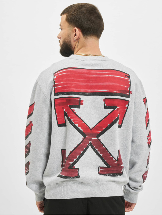 Off-White Sweat & Pull Marker gris