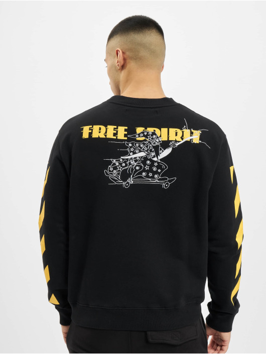 Off-White Sweat & Pull Diag Free Wizard Crewneck jaune