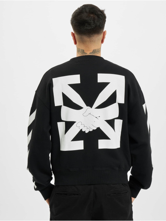 Off-White Sweat & Pull Diag Agreement Over noir