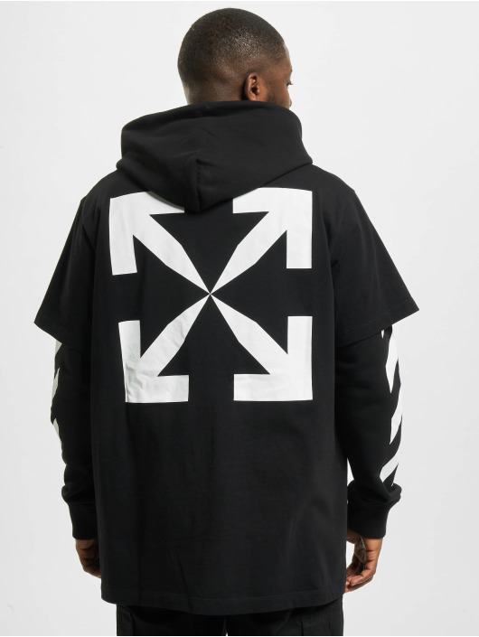 Off-White Sweat & Pull Monal Double Layer noir