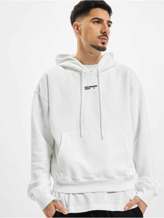 Off-White Sweat capuche Masked Face blanc