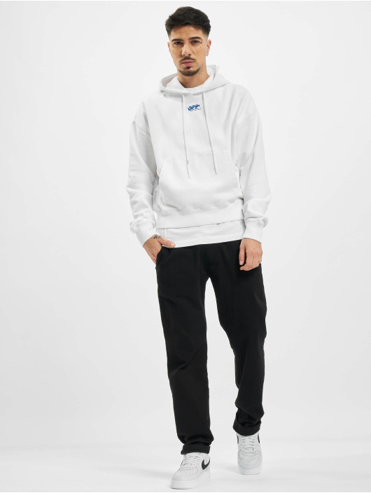 Off-White Sweat capuche Mirko First Over blanc