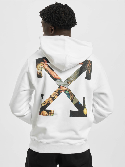 Off-White Sweat capuche Pascal Arrow blanc