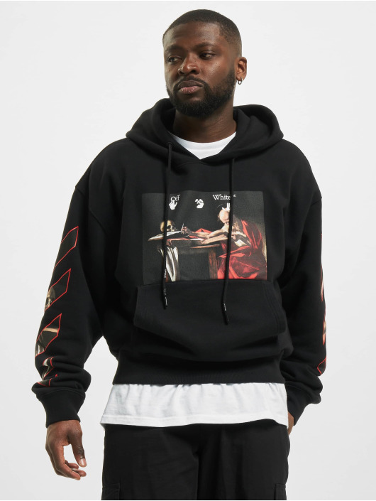 Off-White Sweat capuche Caravaggio noir