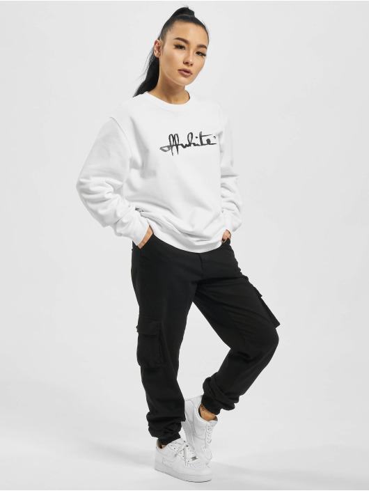 Off-White Swetry Script 21 bialy
