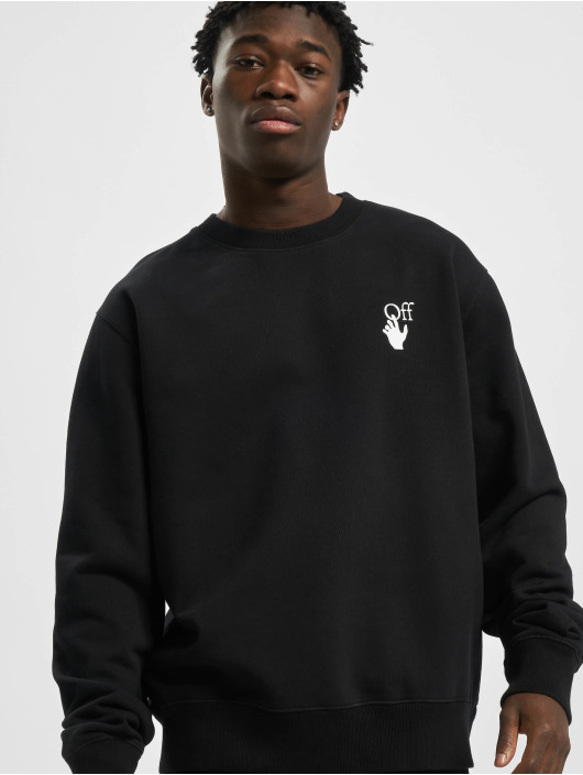 Off-White Swetry Cut Here Slim czarny