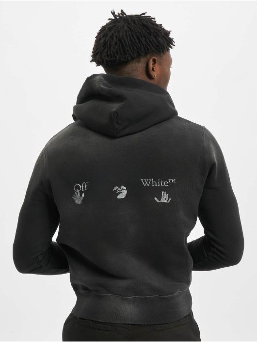 Off-White Swetry Logo Vintage Slim czarny