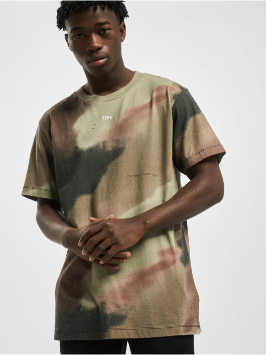 Off-White T-paidat Stencil camouflage