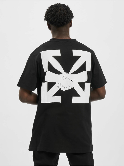 Off-White T-paidat Agreement S/S musta