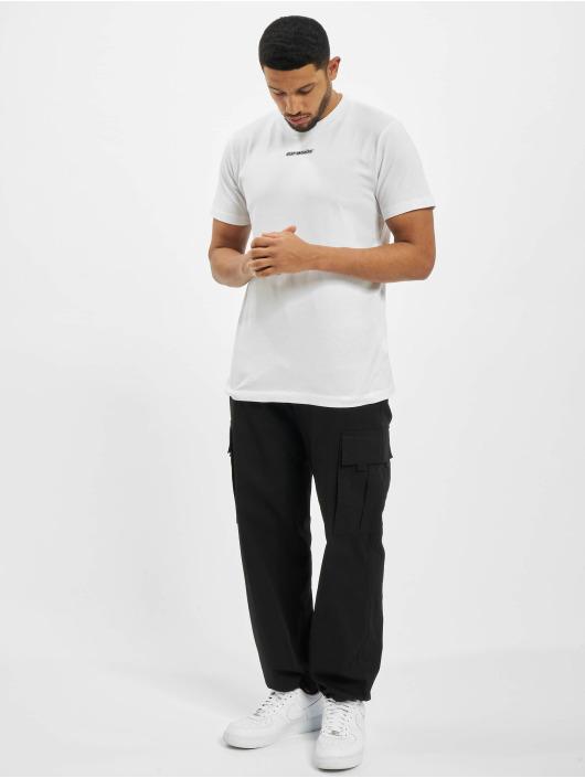 Off-White T-paidat Marker S/S Over valkoinen