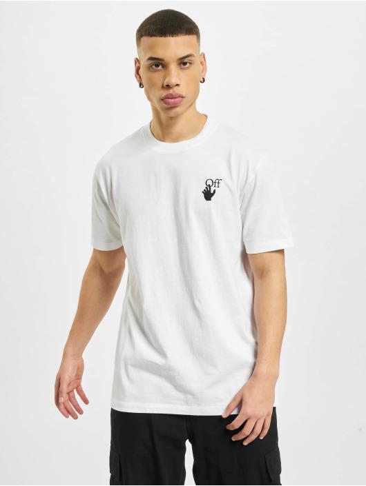 Off-White T-paidat Marker valkoinen