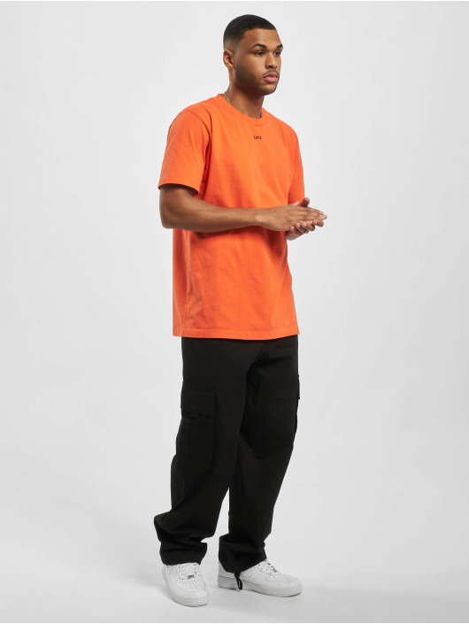 Off-White T-shirt Stencil S/S apelsin