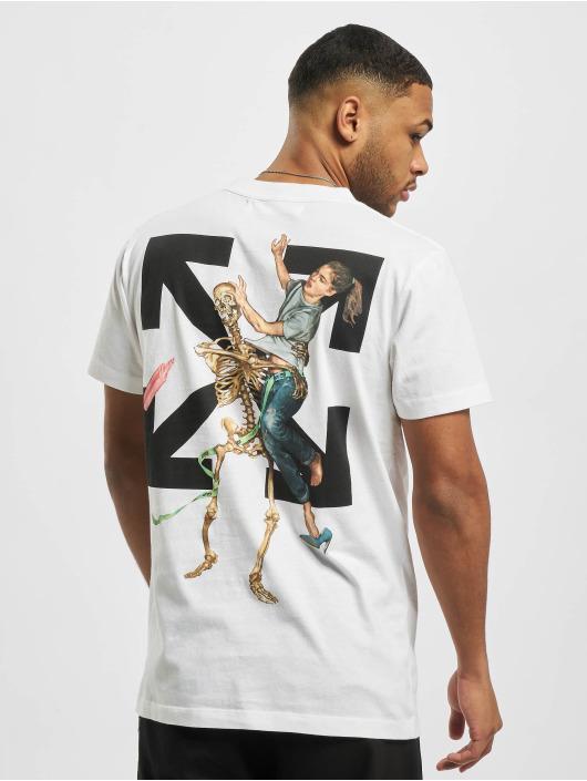 Off-White T-shirt Pascal Skeleton S/S bianco