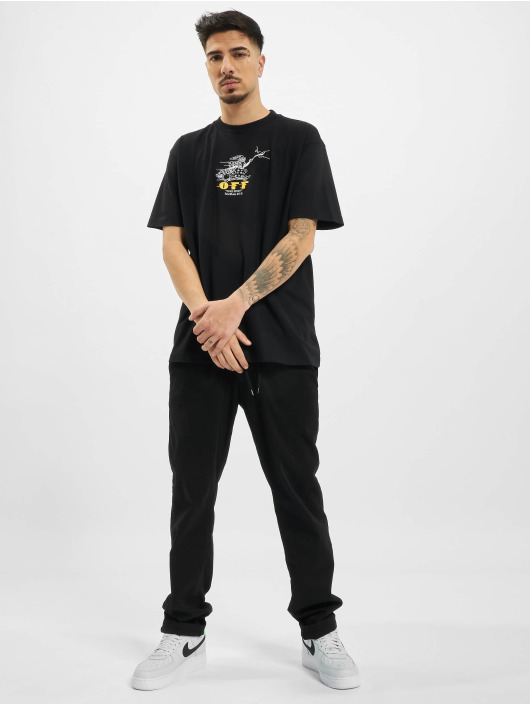 Off-White T-Shirt Free Wizard black