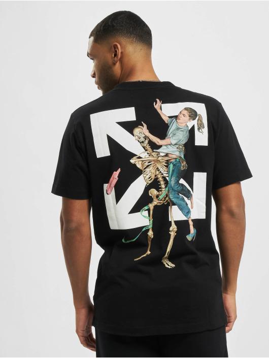 Off-White T-Shirt Pascal Skeleton black