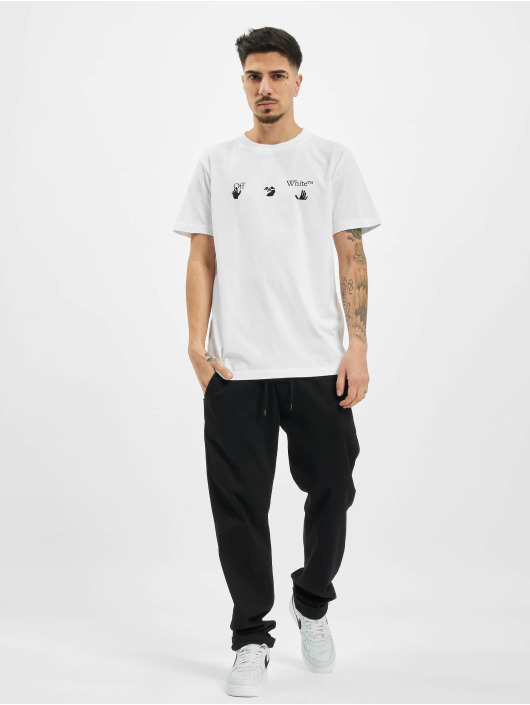 Off-White T-Shirt New Logo blanc