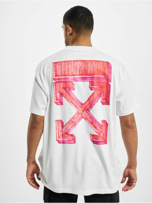 Off-White T-Shirt Marker S/S blanc