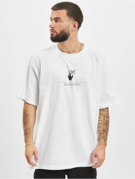Off-White T-Shirt Graff blanc