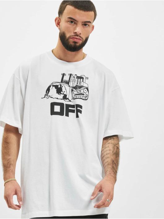 Off-White T-Shirt Caterpilla blanc