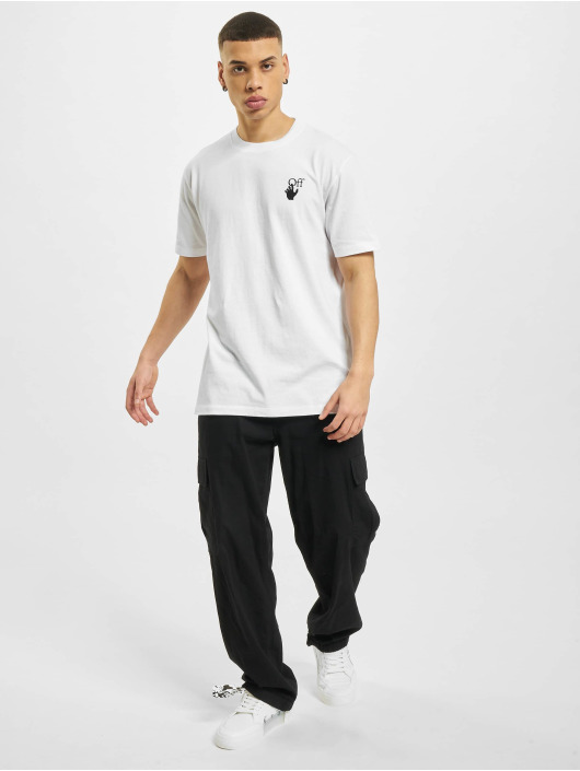 Off-White T-Shirt Marker blanc