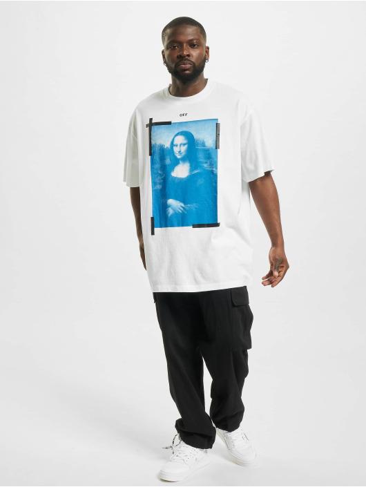 Off-White T-Shirt Monalisa blanc