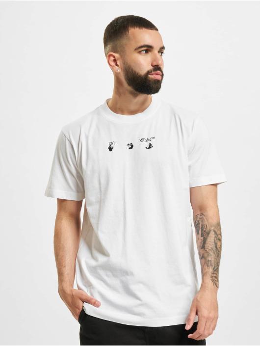 Off-White T-Shirt Bolt Arrow S/S Slim blanc