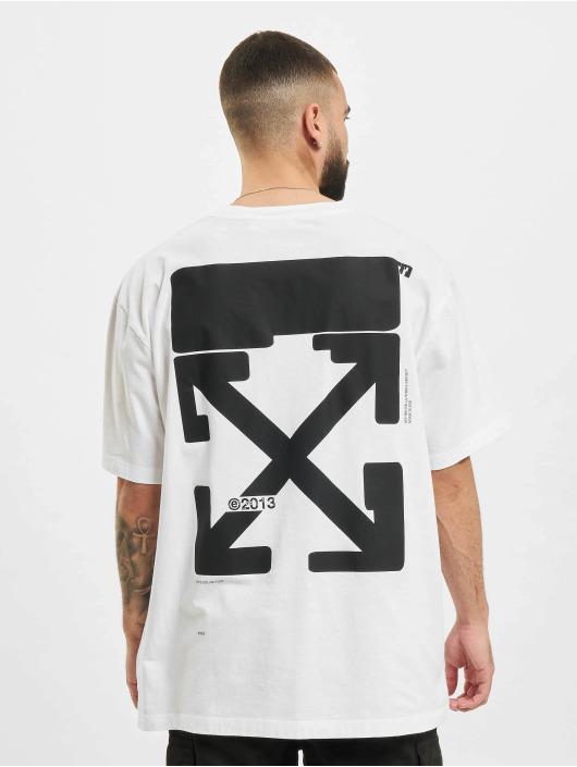 Off-White T-Shirt Tech Marker blanc