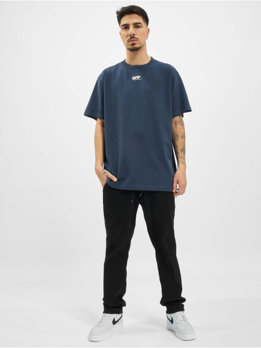 Off-White T-Shirt Mirko First blau