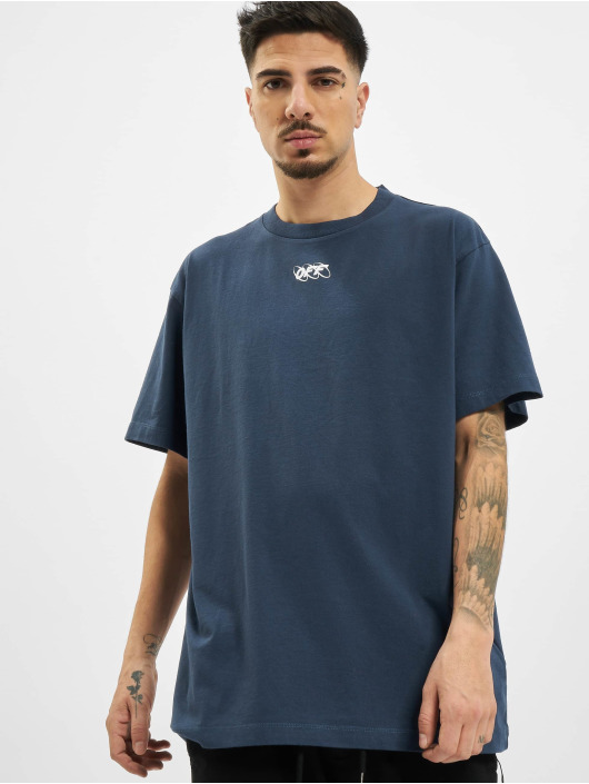Off-White t-shirt Mirko First blauw