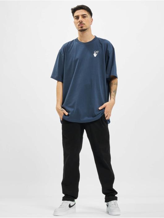 Off-White t-shirt Agreement blauw