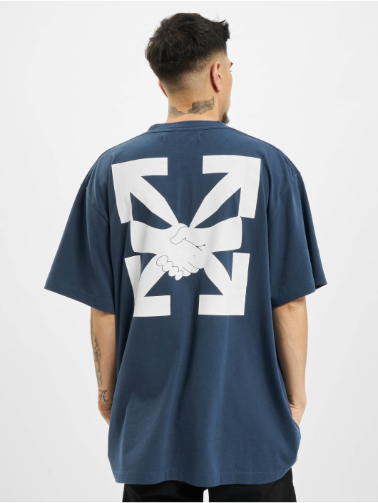 Off-White T-Shirt Agreement bleu