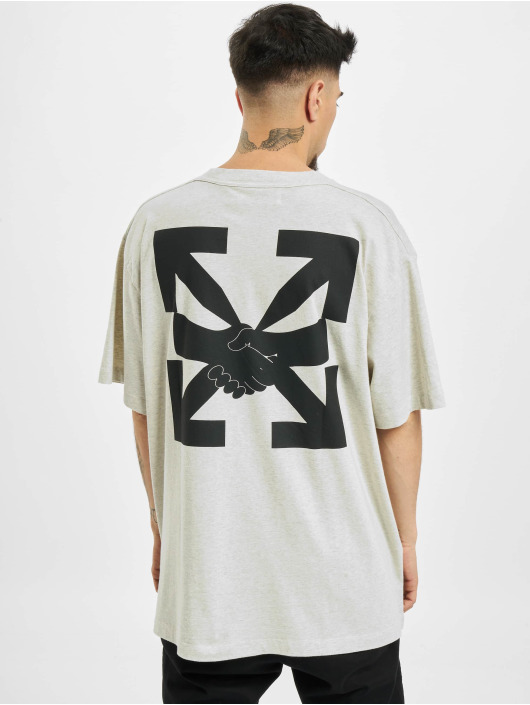 Off-White T-Shirt Agreement grau