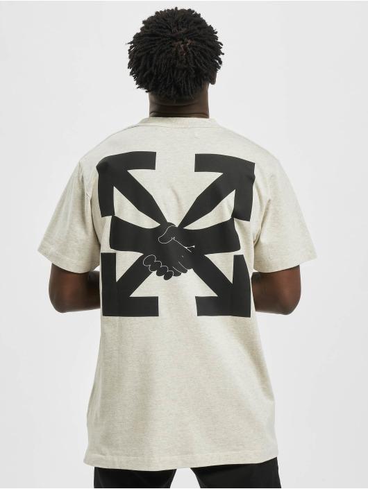 Off-White T-shirt Agreement S/S grigio